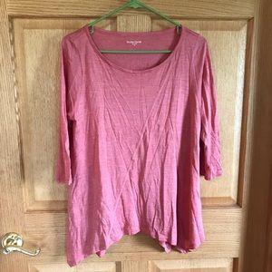 Eileen Fisher top 70% silk, beautiful soft top!!